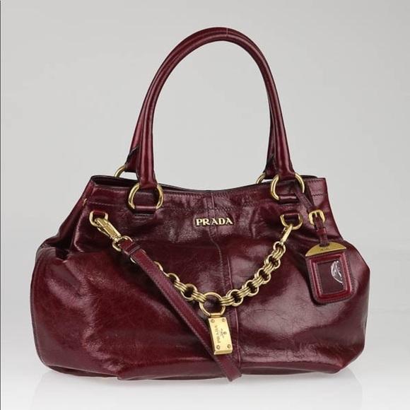 Prada bag guaranteed authentic shoulder purse